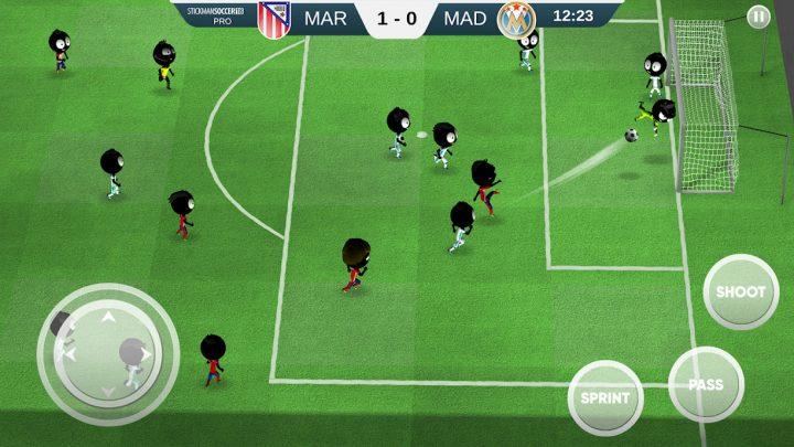 Stickman Soccer 2018 2.2.6 دانلود بازی فوتبال بدون دیتا آفلاین اندروید