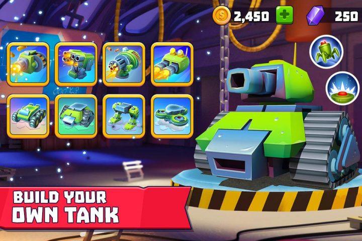 دانلود بازی Tanks A Lot 2.45 + (مود و هک شده پول بی نهایت)