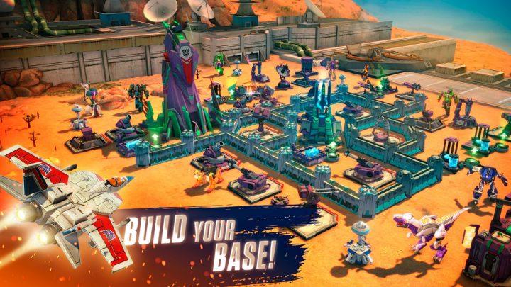دانلود Transformers: Earth Wars 12.0.0.939 بازی ترانسفورمرز: جنگ های زمینی اندروید + مود