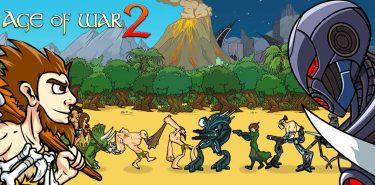 دانلود Age of War 2 1.6.2 بازی دوران جنگ 2 اندروید + مود
