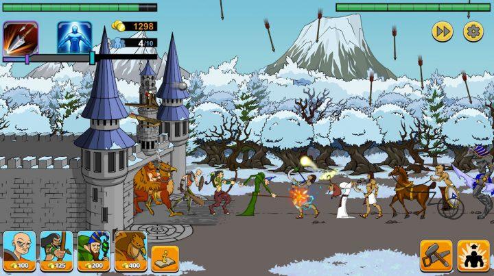 Age of War 2 1.4.4 دانلود بازی دوران جنگ 2 اندروید + مود