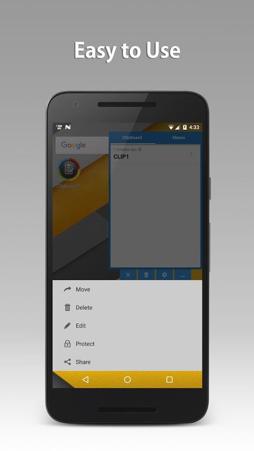 دانلود Clipboard Pro 2.0.1 – برنامه مدیریت کلیپ بورد اندروید