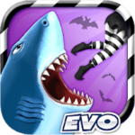 دانلود Hungry Shark Evolution 8.0.6 بازی کوسه گرسنه اندروید + مود