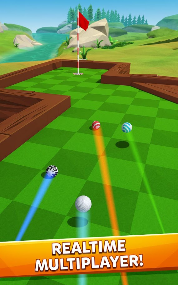 Golf Battle 1.1.3 دانلود بازی گلف چند نفره اندروید