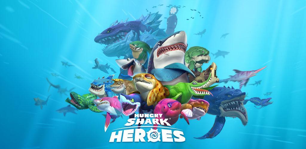Hungry Shark Heroes 1.5 دانلود بازی قهرمانان کوسه گرسنه + دیتا