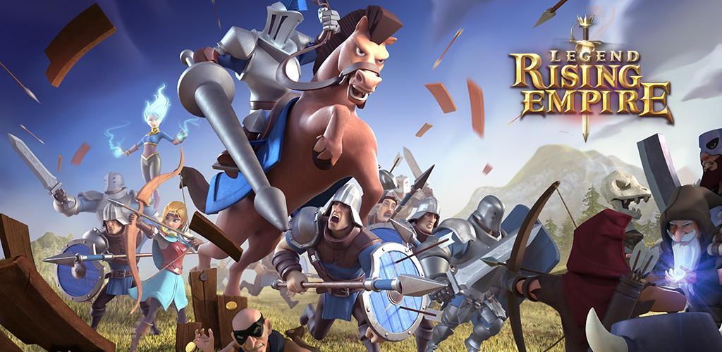 Legend: Rising Empire 1.5.61 دانلود بازی افسانه توسعه امپراطوری