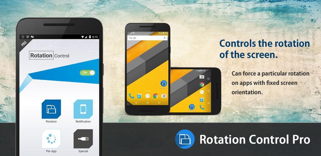 دانلود Rotation Control Pro 3.5.4 – برنامه کنترل چرخش صفحه اندروید
