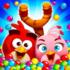 دانلود Angry Birds POP Bubble Shooter 3.84.0 بازی پرندگان خشمگین تیرانداز اندروید + مود