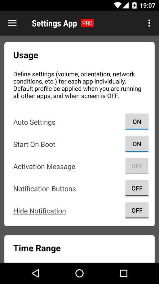 Settings App Pro – AutoSetting 1.0.131 تنظیمات جداگانه برای هر برنامه
