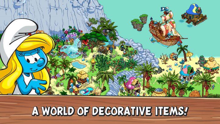 Smurfs' Village 1.68.1 دانلود بازی دهکده اسمورف ها اندروید + مود + دیتا