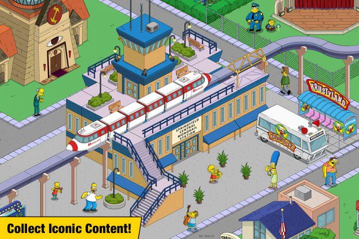 دانلود The Simpsons: Tapped Out 4.44.0 بازی سیمپسون ها اندروید + مود