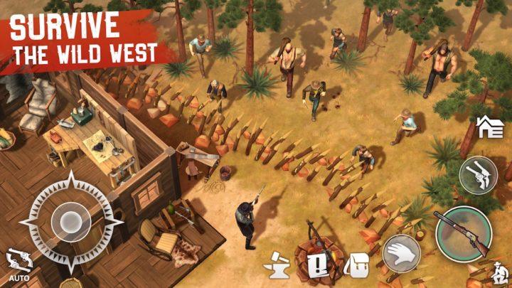 دانلود Westland Survival 1.5.2 بازی بقا در غرب وحشی کابوی اندروید + مود