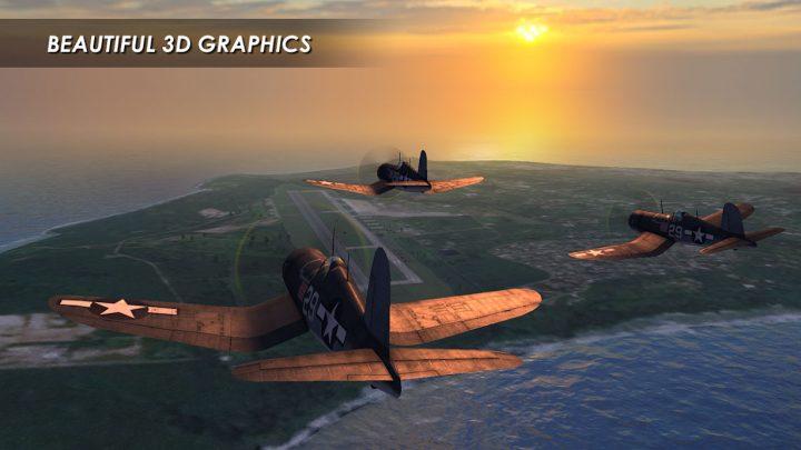 Wings of Steel 0.3.2 دانلود بازی نبرد هوایی جنگ جهانی دوم + مود