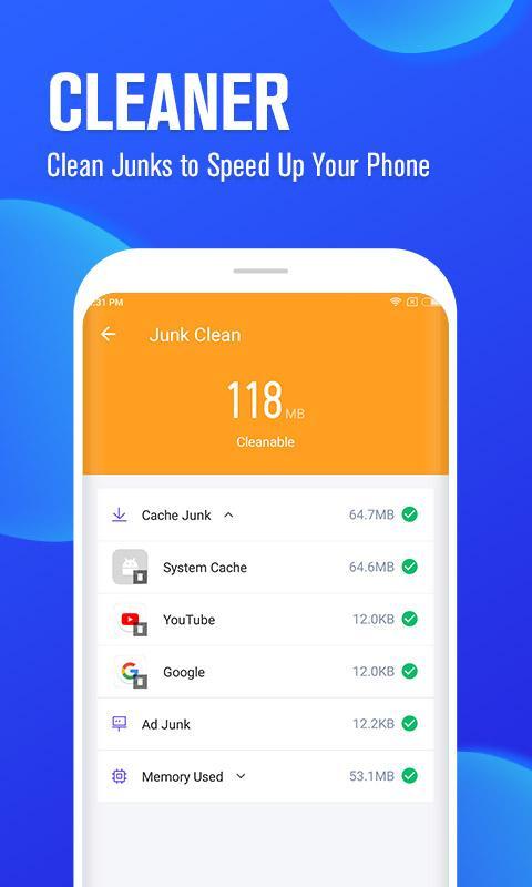 Alibaba Master 1.3.1 دانلود آنتی ویروس، قفل برنامه، ضبط تماس و صدا