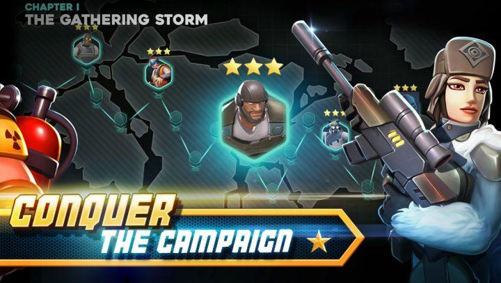 Alpha Squad 5 2.6.8 دانلود بازی جنگی گروه آلفا 5 اندروید + مود