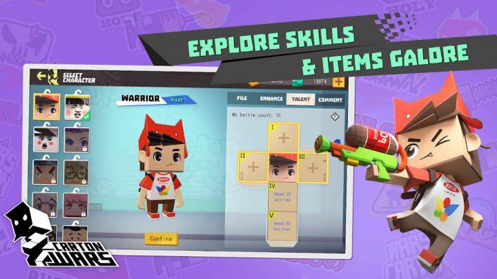 Carton Wars 1.1.6 دانلود بازی جنگ های مقوایی اندروید + دیتا