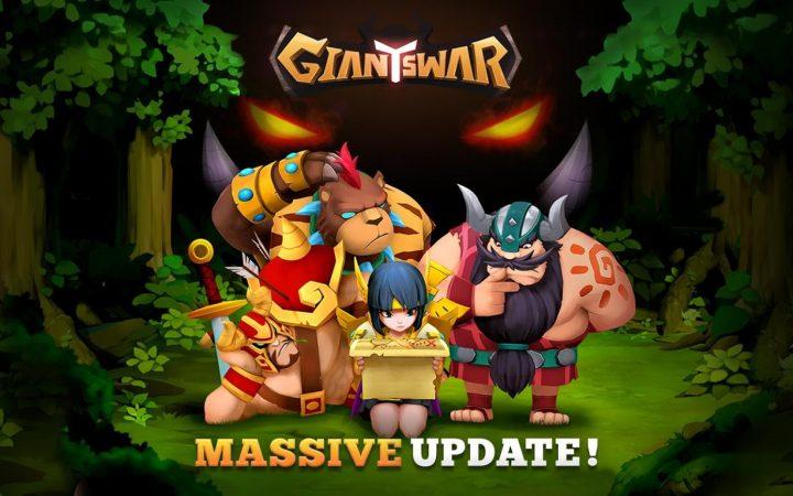 Giants War 1.2.5 دانلود بازی نقش آفرینی نبرد غول ها اندروید