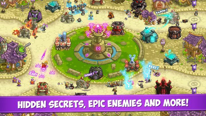 Kingdom Rush Vengeance 1.8.2 دانلود بازی انتقام پادشاهی راش اندروید + مود