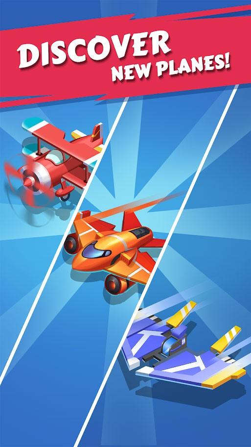 Merge Plane – Click & Idle Tycoon 1.9.1 دانلود بازی ساخت هواپیما + مود