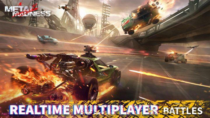 Metal Madness: PvP Shooter 0.27 دانلود بازی ماشین جنگی تیراندازی
