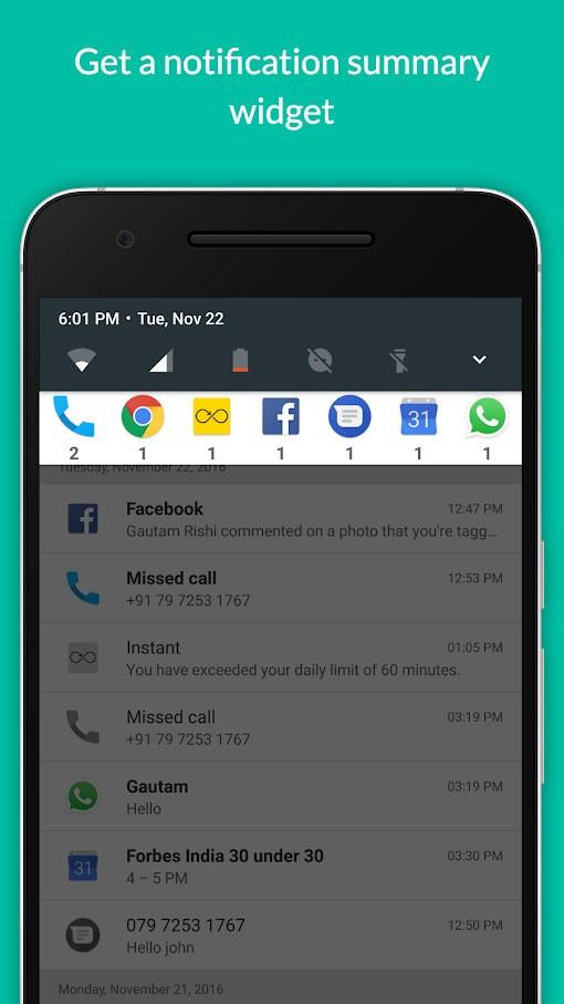 Notification Hub Pro 1.2.2 دانلود برنامه ذخیره نوتیفیکیشن گوشی اندروید
