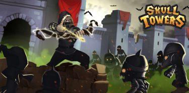دانلود Skull Towers 1.2.7 بازی برج دفاعی جمجمه اندروید + مود