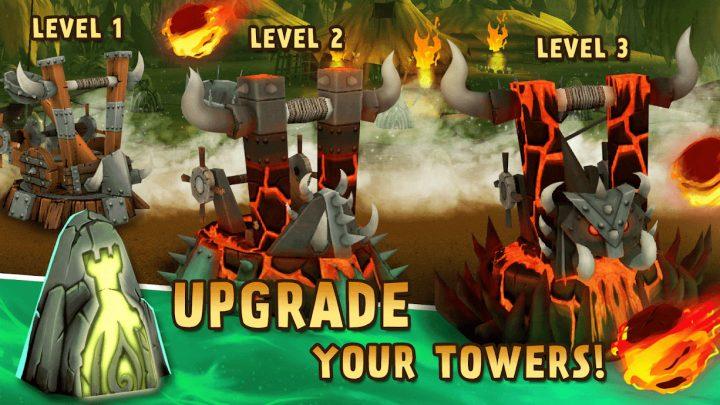 دانلود Archers Kingdom TD – Best Offline Games 1.2.14 بازی برج دفاعی جمجمه اندروید + مود