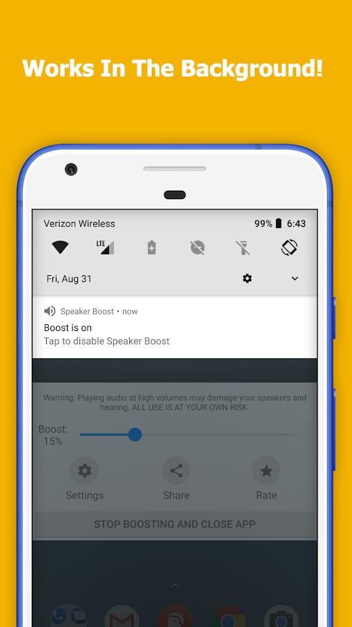 Speaker Boost – Volume Booster Pro 3.0.11 برنامه افزایش صدای گوشی