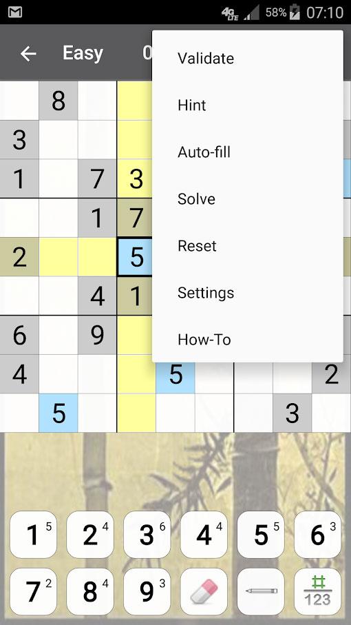 Sudoku Premium 11.0.1.g دانلود بازی سودوکو حرفه ای