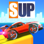 دانلود SUP Multiplayer Racing 2.2.8 بازی ماشین سواری چند نفره اندروید + مود