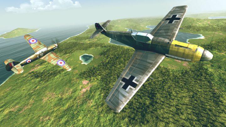دانلود Warplanes: WW2 Dogfight 1.9 – بازی هواپیما جنگی اندروید + مود