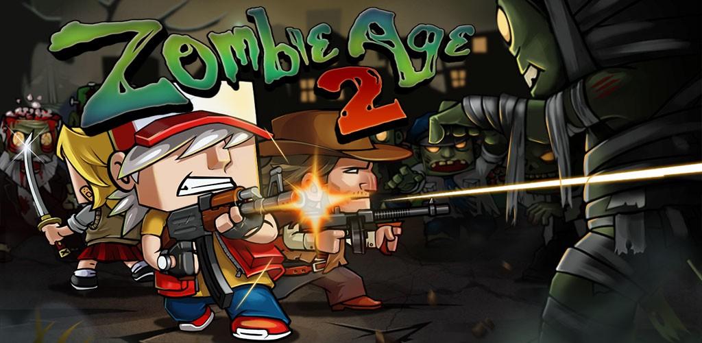 Zombie Age 2 1.2.7 دانلود بازی عصر زامبی 2 اندروید + مود