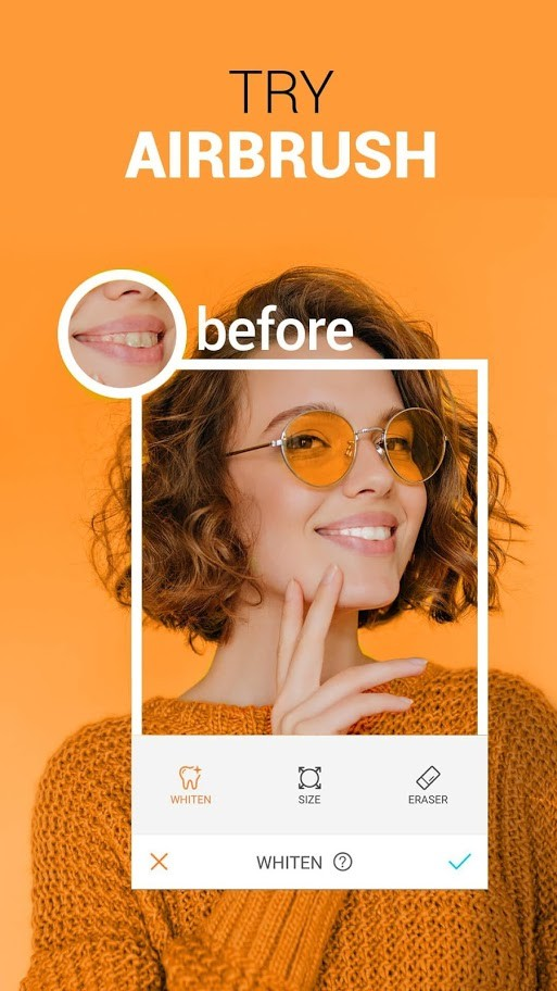 دانلود AirBrush: Easy Photo Editor Pro 4.6.4 برنامه ویرایش عکس اندروید