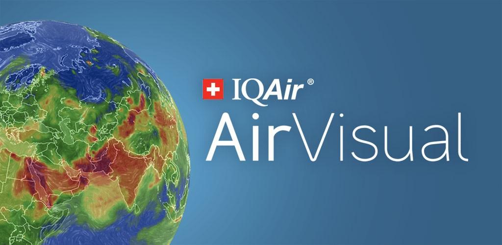 دانلود Air Quality | AirVisual 5.3.1-1 برنامه سنجش آلودگی هوا اندروید