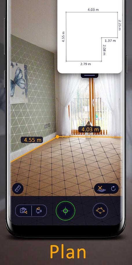 دانلود AR Ruler App Pro 1.5.8 برنامه خط کش واقعیت افزوده اندروید
