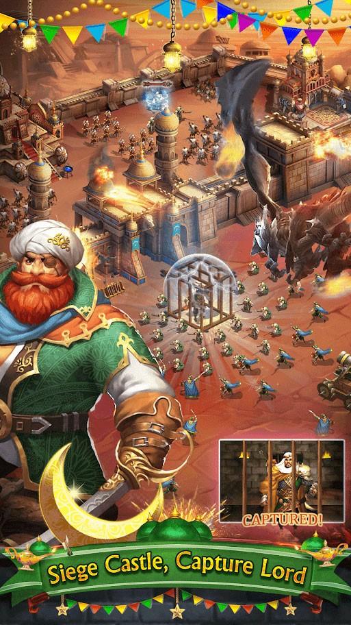 Arab Empire 2 – King Of Desert 1.7.2 دانلود بازی امپراطوری عرب 2 اندروید