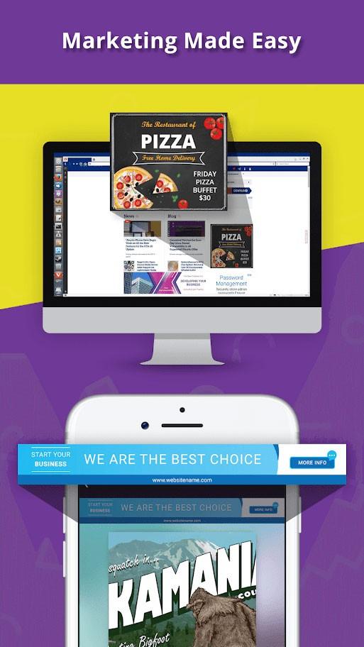 دانلود Banner Maker Pro 15.0 برنامه ساخت بنر تبلیغاتی، پوستر و استوری