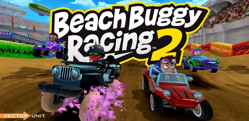 Beach Buggy Racing 2 1.2.0 دانلود بازی ماشین سواری در ساحل 2 اندروید + مود