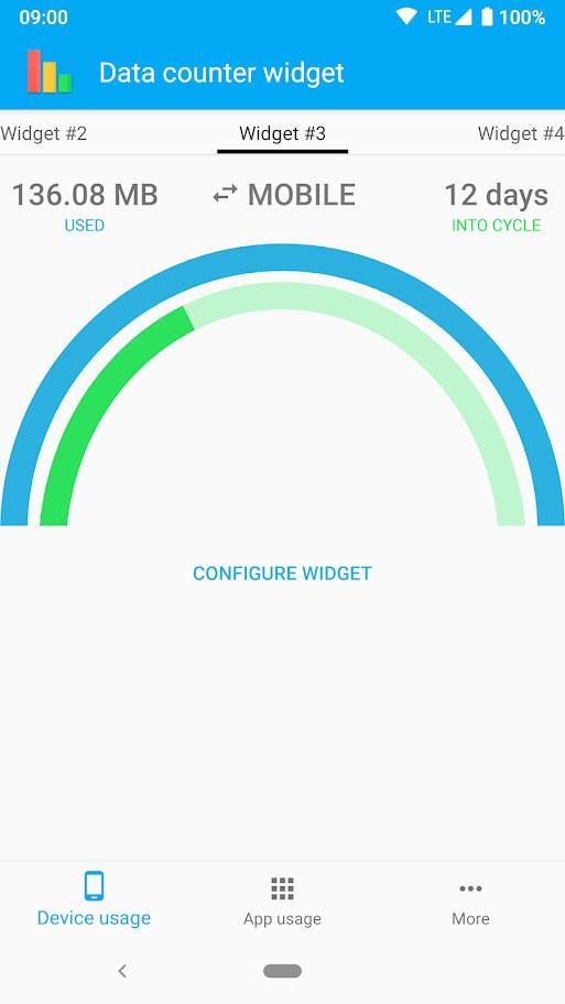 دانلود Data counter pro | data usage 3.4.8 برنامه مدیریت مصرف اینترنت