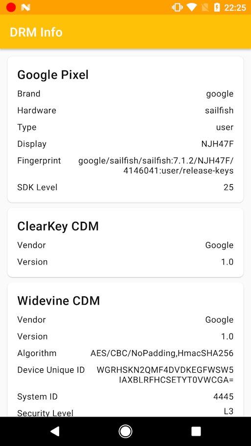 DRM Info Pro 1.1.0.181227 مشاهده اطلاعات ماژول DRM دستگاه