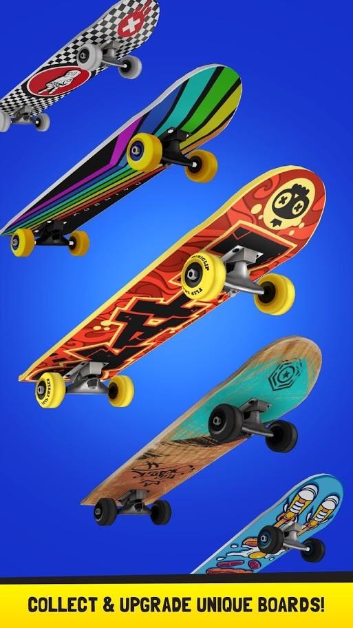 Flip Skater 1.89 دانلود بازی اسکیت برد اندروید + مود