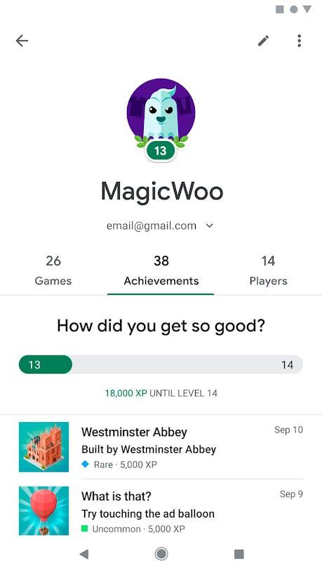 دانلود Google Play Games 2021.04.25973 برنامه گوگل پلی گیمز اندروید