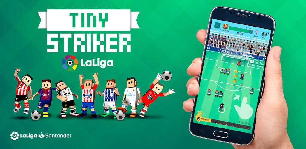 Tiny Striker LaLiga 2019 1.0.13 دانلود بازی فوتبال مهاجم کوچک لالیگا