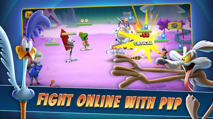 Looney Tunes World of Mayhem 13.1.2 دانلود بازی لونی تونز + مود