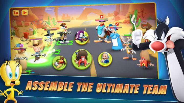 دانلود Looney Tunes World of Mayhem 22.0.0 بازی لونی تونز اندروید + مود