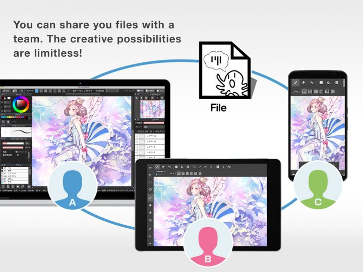 دانلود MediBang Paint Pro – Make Art 17.6 – برنامه نقاشی دیجیتال اندروید