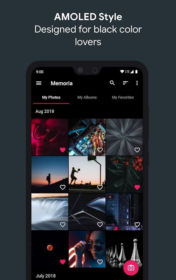 Memoria Photo Gallery Pro 1.0.2.5 دانلود برنامه گالری عکس شخصی اندروید