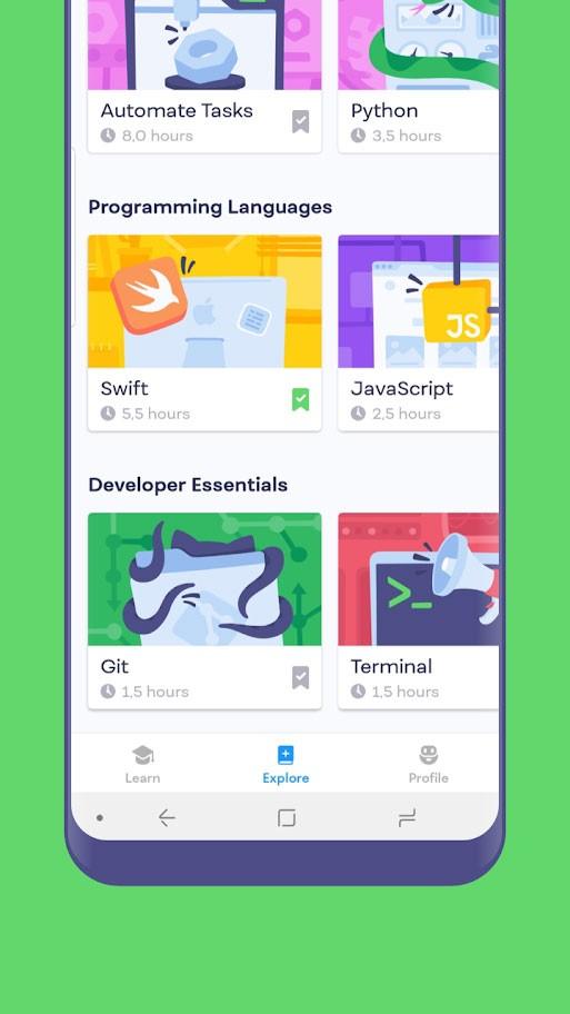 دانلود Mimo: Learn to Code Premium 3.16 آموزش برنامه نویسی
