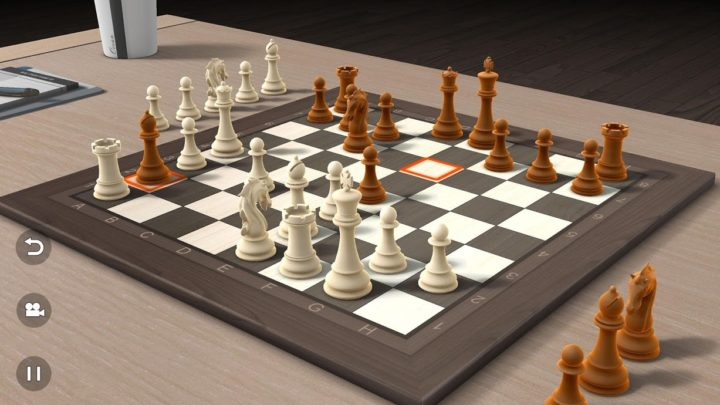 Real Chess 3D 1.1 دانلود بازی شطرنج سه بعدی برای اندروید
