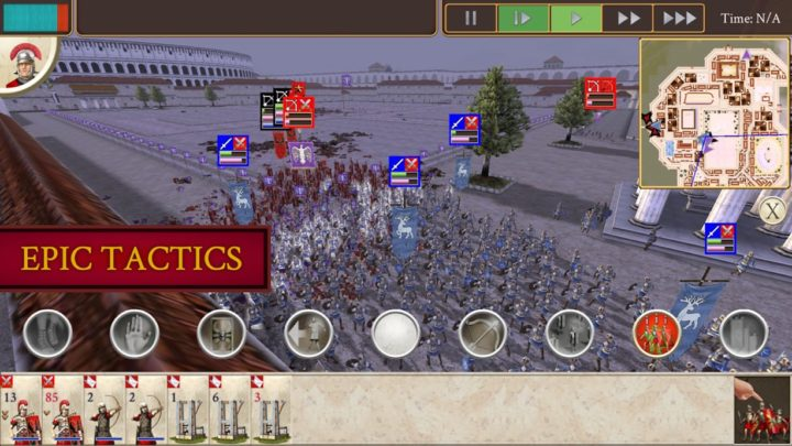 دانلود ROME: Total War 1.10 بازی جنگ تمام عیار روم اندروید + دیتا